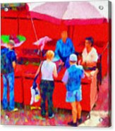 Fruit Of The Vendor Acrylic Print by Jeff Kolker