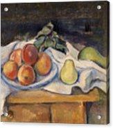 Fruit On A Table Acrylic Print