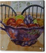 Fruit On The Table Acrylic Print