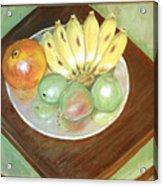 Fruit Plate Acrylic Print