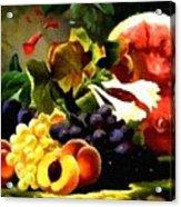 Fruit Still-life Catus 1 No 1 H B Acrylic Print