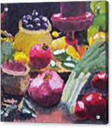 Fruit Still Life Acrylic Print