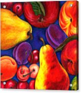 Fruit Tumble Acrylic Print