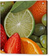 Fruitmix Acrylic Print