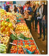 Fruits And Vegetables - Pike Place Market Acrylic Print