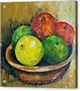 Frutas Acrylic Print