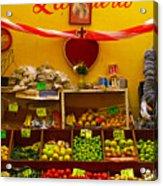 Frutas Y Verduras Acrylic Print