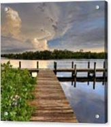 Ft. Hamer Sunset 05 Acrylic Print