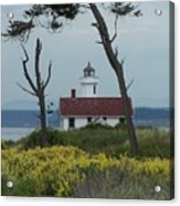 Ft. Warden Lighthouse Acrylic Print