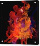 Fuego Acrylic Print by M Montoya Alicea