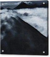 Fuego Volcano Acrylic Print by Patricia Ann Dees