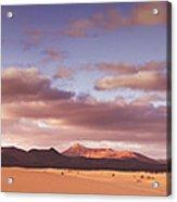 Fuerteventura Desert Landscape Acrylic Print