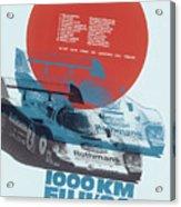 Fuji 1000 Kilometres Porsche 1984 Acrylic Print