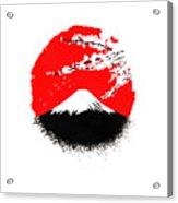 Fujiyama Acrylic Print