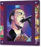 Dave Matthews Band -full Band Set Acrylic Print