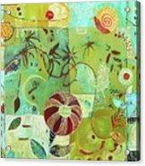Full Crazy Quilt Acrylic Print