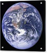 Full Earth Acrylic Print by Stocktrek Images