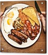 Full English Breakfast Acrylic Print