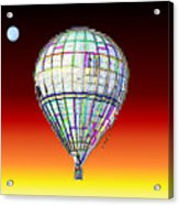 Full Moon Balloon Acrylic Print
