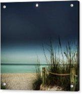 Full Moon Beach Acrylic Print