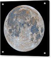 Full Moon / Day 15 Acrylic Print