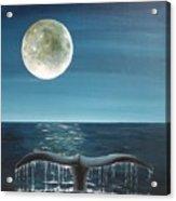 Full Moon Fluke Acrylic Print