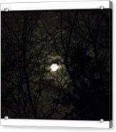 Full Moon In February Acrylic Print