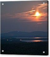 Full Moon Over Acadia I Acrylic Print
