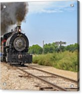 Full Steam To Nowhere Acrylic Print