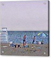 Fun At The Beach Acrylic Print
