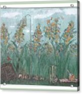 Fun In The Weeds Acrylic Print