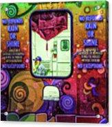 Fun Starts Here - Traveling Fair Acrylic Print