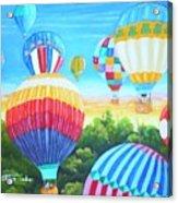 Fun With Balloons Acrylic Print