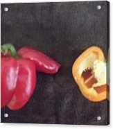 Fun With Vegetables Acrylic Print