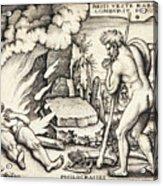Funeral Of Hercules Acrylic Print