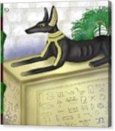Funerary Anubis Acrylic Print