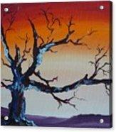 Fungus Tree Acrylic Print