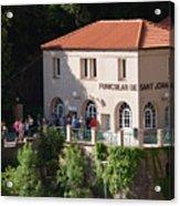 Funicular De Sant Joan Monserratt Acrylic Print