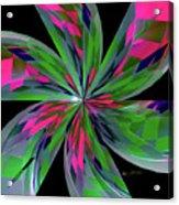 Funky Asterisk Acrylic Print
