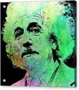 Funky Einstein  Acrylic Print