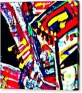 Funky Pop-10 Acrylic Print