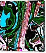 Funky Pop-12 Acrylic Print