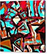Funky Pop-6 Acrylic Print