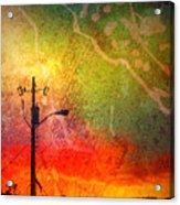 Funky Sunset Acrylic Print