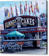 Funnel Cakes Acrylic Print