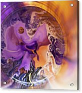Funnel Of Time Acrylic Print