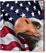 Funny Flag Acrylic Print