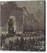 Fun?railles De Victor Hugo.  La Veill?e Acrylic Print