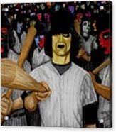 Furies Up To Bat Acrylic Print by Al  Molina