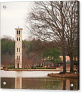 Furman Bell Tower 3 Acrylic Print